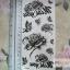 YM-X240 สติ๊กเกอร์ลายสัก tattoo ลายดอกไม้ 18 x 7 cm thumbnail 1