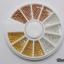 มุกไข่ปลาขนาด 1.3 มิล สีเงิน ทอง ทองแดง คละ3สี กล่องกลม thumbnail 1