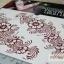 YM-K100 สติ๊กเกอร์สักแฟชั่น sticker tattoo ลายดอก 15.5x10.8 cm thumbnail 5