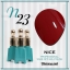 สีเจลทาเล็บ NICE สีสวยขวดสวย ยกเซ็ต 81 สี แถมอัลบั้มฟรี 1เล่มใหญ่ thumbnail 30