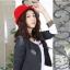 หมวกชาลี สีแดง thumbnail 3
