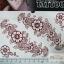 YM-K100 สติ๊กเกอร์สักแฟชั่น sticker tattoo ลายดอก 15.5x10.8 cm thumbnail 1