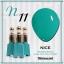 สีเจลทาเล็บ NICE สีสวยขวดสวย ยกเซ็ต 81 สี แถมอัลบั้มฟรี 1เล่มใหญ่ thumbnail 18