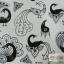 YM-K083 สติ๊กเกอร์สักแฟชั่น sticker tattoo ลายนกยุง โบ15.5x10.8 cm thumbnail 1