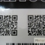 YM-K001 สติ๊กเกอร์สักแฟชั่น sticker tattoo ลายบาร์โค๊ต 15.5x10.8 cm thumbnail 6