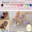 เม็ดพลาสติกสี ทรงวงรี เลือกสีด้านใน thumbnail 1