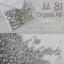 เพชรชวาAA สีขาวเหลือบรุ้ง Crystal AB รหัส AA-31 คละขนาด ss3 ถึง ss30 ปริมาณประมาณ 1300-1500เม็ด thumbnail 1