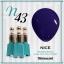 สีเจลทาเล็บ NICE สีสวยขวดสวย ยกเซ็ต 81 สี แถมอัลบั้มฟรี 1เล่มใหญ่ thumbnail 50
