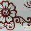 YM-K100 สติ๊กเกอร์สักแฟชั่น sticker tattoo ลายดอก 15.5x10.8 cm thumbnail 3