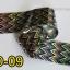 ฟอยล์ติดเล็บ ลายสีเงินดำ รหัส SD Nails foils เลือกสีด้านใน ขนาด 4X40 เซน thumbnail 9