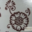 YM-K108 สติ๊กเกอร์สักแฟชั่น sticker tattoo ลายดอก 15.5x10.8 cm thumbnail 3