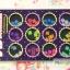 หมุดทรงหลี่ยม เรซินใส 12 สี ขนาด 5มิล thumbnail 2