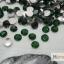 เพชรธรรมดา สีเขียวเข้ม ขนาด 3 มิล thumbnail 1