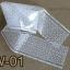 ฟอยล์ติดเล็บ ลายสีขาวพื้นใส รหัส SW Nails foils เลือกสีด้านใน ขนาด 4X40 เซน thumbnail 2