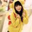 Pre-เสื้อกันหนาวฮู้ดหูหมี สีเหลือง thumbnail 1