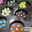มุกติดเล็บ รูปวงรี เหลือบรุ้ง คละ12 สี thumbnail 10