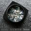 กากเพชรติดเล็บ ปั้มนูน รูปข้าวหลามตัด คละสี 12 เชดสี 12 กระปุก thumbnail 3