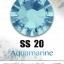 เพชรสวารอฟสกี้แท้ ซองเล็ก สีฟ้า Aquamarine รหัส 202 คลิกเลือกขนาด ดูราคา ด้านใน thumbnail 5