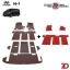 พรมรถยนต์ 7 D Anti Dust รถ HYUNDAI H1 ELITE 11 ที่นั่ง thumbnail 2