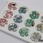 เพชรทรงสีเหลี่ยมตัดขอบ ตูดแหลมมล ขนาด 8 มิล คละ4สี กล่องเหลี่ยมขาว thumbnail 1