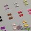 เพชรติดเล็บ รูปโบว์ขนาดเล็ก คละ12 สี thumbnail 1