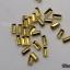 LO-01 โลหะ และหมุดทรงต่างๆ สีทอง กล่องกลม 1กล่อง มี12 แบบ thumbnail 3