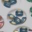 เพชรทรงสีเหลี่ยมตัดขอบ ตูดแหลมมล ขนาด 8 มิล คละ4สี กล่องเหลี่ยมขาว thumbnail 5