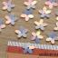 ดอกไม้พลาสติก แบบแผ่นหนา แยกซอง เลือกสีใน thumbnail 1