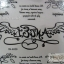 YM-K020 สติ๊กเกอร์สักแฟชั่น sticker tattoo ลายปีก15.5x10.8 cm thumbnail 5