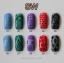 ฟอยล์ติดเล็บ ลายสีขาวพื้นใส รหัส SW Nails foils เลือกสีด้านใน ขนาด 4X40 เซน thumbnail 11