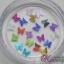 กากเพชรติดเล็บรูปผีเสื้อ 12 สี thumbnail 12