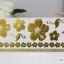 รหัส L แทททู สีทอง Gold tattoo sticker เลือกลายด้านใน thumbnail 5