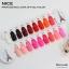 สีเจลทาเล็บ NICE สีสวยขวดสวย ยกเซ็ต 81 สี แถมอัลบั้มฟรี 1เล่มใหญ่ thumbnail 4