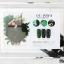 สีเจลทาเล็บ OU PIN ชุด3สี ชื่อโทนสี YOUQING GREEN พร้อมกรอบรูป เนื้อสีดี เข้มข้น คุณภาพเหนือราคา thumbnail 2