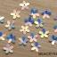 ดอกไม้พลาสติก แบบแผ่นหนา แยกซอง เลือกสีใน thumbnail 5