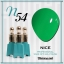 สีเจลทาเล็บ NICE สีสวยขวดสวย ยกเซ็ต 81 สี แถมอัลบั้มฟรี 1เล่มใหญ่ thumbnail 61