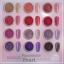 Sweet Passionate Pearl Powder ผงมุกโทนสีชมพูม่วง ชุด12เชดสี แถมแปรงขัด 12 ชิ้น thumbnail 3