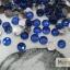 เพชรธรรมดา สีน้ำเงิน ขนาด 3 มิล thumbnail 1
