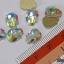 เพชรติดเล็บ รูปทรงหัวกระโหลก ก้นแบน ขนาด 10 มิล เลือกสีด้านใน thumbnail 3