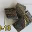 ฟอยล์ติดเล็บ ลายสีเงินดำ รหัส SD Nails foils เลือกสีด้านใน ขนาด 4X40 เซน thumbnail 13