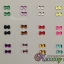 เพชรติดเล็บ รูปโบว์ขนาดเล็ก คละ12 สี thumbnail 2