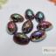 มุกติดเล็บ รูปวงรี เหลือบรุ้ง คละ12 สี thumbnail 6