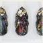 ผง Chameleon เกร็ดหยาบ ผสมผง Hologram เกร็ดละเอียด ชุด6สี Chameleon & Hologram Powder thumbnail 8