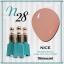 สีเจลทาเล็บ NICE สีสวยขวดสวย ยกเซ็ต 81 สี แถมอัลบั้มฟรี 1เล่มใหญ่ thumbnail 35