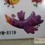 YM-X119 สติ๊กเกอร์ลายสัก tattoo ลายการ์ตูน18 x 7 cm thumbnail 3