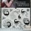 YM-K083 สติ๊กเกอร์สักแฟชั่น sticker tattoo ลายนกยุง โบ15.5x10.8 cm thumbnail 2