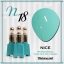 สีเจลทาเล็บ NICE สีสวยขวดสวย ยกเซ็ต 81 สี แถมอัลบั้มฟรี 1เล่มใหญ่ thumbnail 25