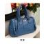 Axixi-กระเป๋าหนังสีน้ำเงิน ทรงคล้าย Balenciga thumbnail 1