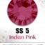 เพชรสวารอฟสกี้แท้ ซองใหญ่ สีชมพูเข้ม Indian Pink รหัส 289 คลิกเลือกขนาด ดูราคา ด้านใน thumbnail 2