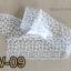 ฟอยล์ติดเล็บ ลายสีขาวพื้นใส รหัส SW Nails foils เลือกสีด้านใน ขนาด 4X40 เซน thumbnail 9